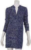 Tibi Polka Dot Shirt Dress - Lyst