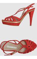Pura Lopez Platform Sandals - Lyst