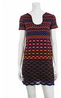 M Missoni Diamond Stripe Dress - Lyst