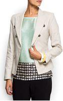 Mango Military Style Jacket - Lyst