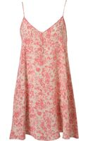 Topshop Pink Petal Swing Slip By Boutique - Lyst