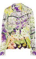 Mary Katrantzou Printed Silk-chiffon Blouse - Lyst