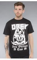 Obey The Into Oblivion Basic Tee in Black - Lyst