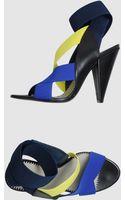 Pollini High Heeled Sandals - Lyst