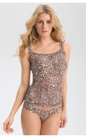Hanky Panky Leopard Lace Camisole - Lyst
