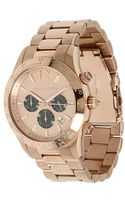 Michael Kors Rose Gold Watch - Lyst