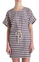 Sea Striped Dress - Lyst