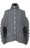 Preen Line Bubble Knit Cape - Lyst