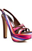 Michael Antonio Kaya - Pink Printed Fabric - Lyst