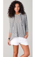 LNA Sweater Hoodie - Lyst