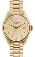 Kate Spade Seaport Grand Bracelet Watch - Lyst