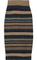 Burberry Prorsum High-waisted Knitted Pencil Skirt - Lyst