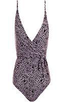 Diane Von Furstenberg Chike One-piece Swimsuit - Lyst