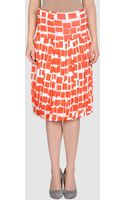 Metradamo 34 Length Skirt - Lyst
