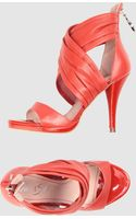 Miss Sixty Highheeled Sandals - Lyst