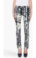 Balmain Star Print Jeans - Lyst
