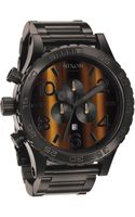 Nixon The 5130 Chrono Tigerseye Watch - Lyst