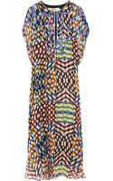 Easton Pearson Marta Embellished Silk-Chiffon Maxi Kaftan - Lyst