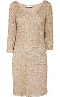 Day Birger Et Mikkelsen Sequined Tulle and Jersey Dress - Lyst