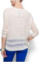 Mango Knit Jumper - Lyst