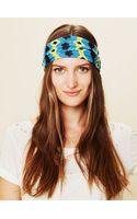 Free People Aztec Wide Headband - Lyst