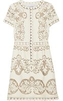Valentino Cottonblend Lace Dress - Lyst