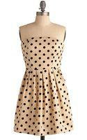 ModCloth Some Like It Spot Dress - Lyst