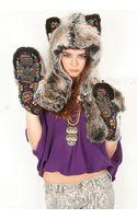 Spirit Hoods Spirit Hoods Grey Wolf Navajo - Lyst