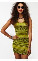 Nasty Gal Tribal Stripe Dress - Lyst