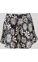 Stella McCartney Ilda Driving Silk Shorts - Lyst