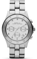 Marc By Marc Jacobs Blade Three Eye Chronograph Watch with Stainless Steel Bracelet  - Lyst