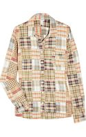 J.Crew Alexis Checked Cotton Shirt - Lyst