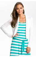 Michael by Michael Kors Open Front Cardigan - Lyst