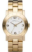 Marc By Marc Jacobs Womens Goldtone Stainless Steel Bracelet - Lyst