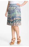 Nic + Zoe Enchanted Petals Flirt Skirt - Lyst