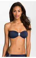 Michael by Michael Kors Hammered Hardware Bikini Top - Lyst