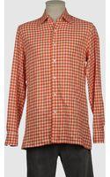 Salvatore Piccolo Salvatore Piccolo Long Sleeve Shirt - Lyst
