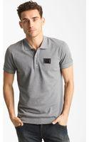 Dolce & Gabbana Short Sleeve Polo - Lyst