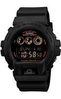 G-shock Mens Digital Army Green Resin Strap Watch  - Lyst