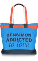 Bensimon Collection Love Line Nylon Tote Bag - Lyst