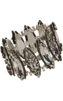 Erickson Beamon Crystal Marquis Articulated Bracelet - Lyst