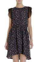 Girl. By Band Of Outsiders Fuzzy Print Dress - Lyst