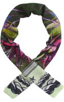Givenchy Robot Floral Scarf - Lyst