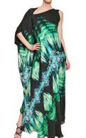 Roberto Cavalli Printed Silk Chiffon Dress - Lyst
