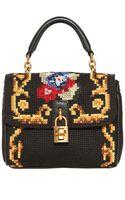 Dolce & Gabbana Mini Dolce Bag Stitched Shoulder Bag - Lyst