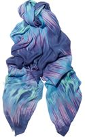 Matthew Williamson Printed Modal and Cashmere Blend Scarf - Lyst