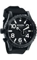 Nixon The 5130 Nylon Strap Watch - Lyst