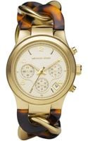 Michael Kors Chainlink Watch  - Lyst