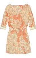 Rebecca Minkoff Sunny Floralprint Silk Crepe De Chine Dress - Lyst