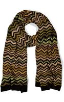 Missoni Moss and Forest Zigzag Maxi Scarf - Lyst
